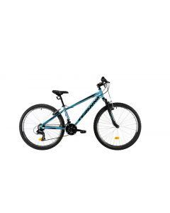 """Bicicleta MTB DHS Teranna 2623 350mm Albastru 26"""""""
