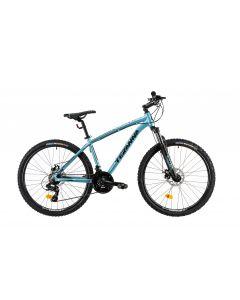 """Bicicleta MTB DHS Teranna 2625 S 400mm Albastru deschis 26"""""""