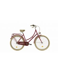 "Bicicleta Dama DHS Citadinne 2636 460mm Roz 26"""