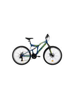 "Bicicleta MTB Kreativ 2643 457mm Albastru 26"""
