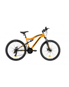 "Bicicleta MTB DHS Teranna 2645 440mm Portocaliu 26"""