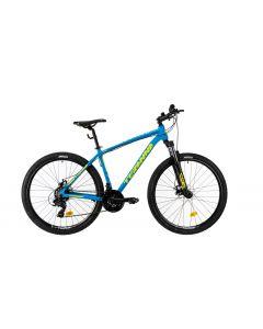 """Bicicleta MTB DHS Teranna 2725 420mm Albastru 27.5"""""""