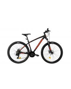 """Bicicleta MTB DHS Teranna 2725 420mm Negru 27.5"""""""