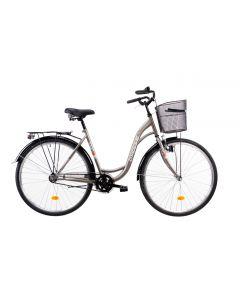 "Bicicleta Oras DHS Citadinne 2830 Gri 28"""