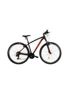 """Bicicleta MTB DHS Teranna 2923 495mm Negru 29"""""""