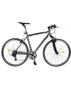 Bicicleta DHS 2865-GRI-VERDE/480