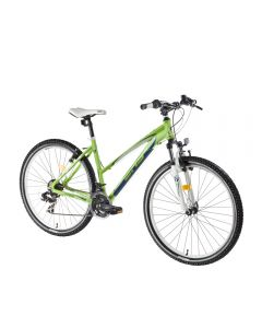 Bicicleta DHS TERRANA 2922 (2016) Verde-alb 457mm