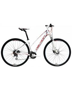 Bicicleta Dama DEVRON RIDDLE LADY LH1.9 2016 Crimson White 495 mm