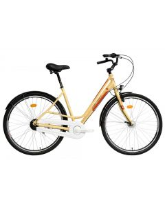 Bicicleta Dama DEVRON URBIO LC2.8 2016 Antique Brass 520 mm