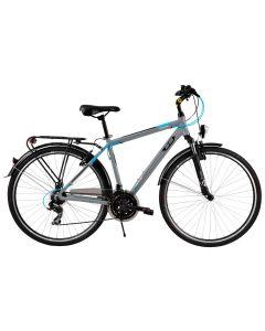 "Bicicleta Oras DHS Travel 2855 Gri 28"""