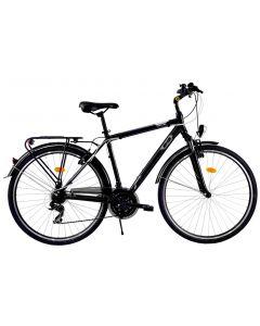 """Bicicleta Oras DHS Travel 2855 Negru 28"""""""