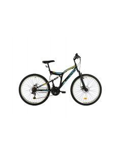 Bicicleta MTB Kreativ 2643 2018 Negru-Albastru 457 mm