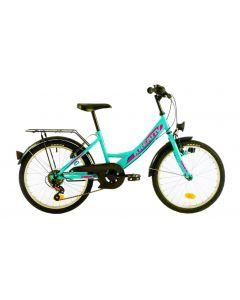 Bicicleta copii KREATIV 2014 2018 Turcoaz 305 mm