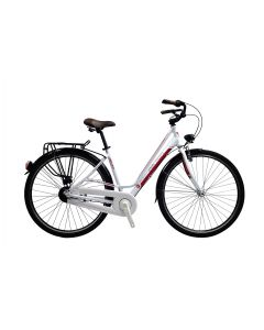Bicicleta DEVRON CITY LADY LC1.8 540 mm Crimson White