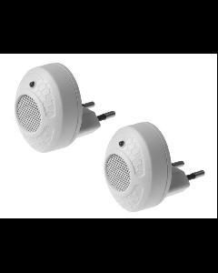 Set 2 Aparate anti-rozatoare cu ultrasunete SILVATRONIC Duo Repeller 2buc x 40mp