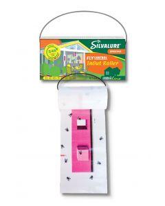 Capcana rola din hartie impotriva mustelor pentru interior & exterior, fara insecticid, SILVALURE InOut Roller, 1 bucata x 6 metri