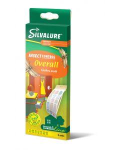 Capcana cu adeziv impotriva moliilor de haine, fara insecticid, SILVALURE Overall, 2 bucati/pachet