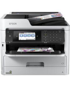 Multifunctionala Epson WorkForce Pro WF-C5710DWF, Inkjet, Color, Format A4, Fax, Retea, Wi-Fi, Duplex