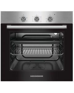 Cuptor incorporabil electric Heinner HBO-S624LTG-IX, 62 l, 4 functii, grill, clasa A, inox