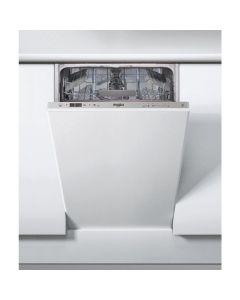 Masina de spalat vase incorporabila Whirlpool WSIC 3M17, 10 seturi, 6 programe, Al 6-lea Simt, FlexiSpace, 45 cm, clasa A+