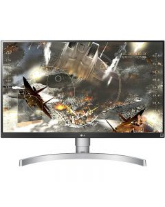Monitor LED LG Gaming 27UK650-W 27 inch 4K 5 ms Silver-White FreeSync