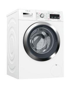 Masina de spalat rufe Bosch Serie 8 WAW326H0EU, 9 kg, 1600 rpm, HomeConnect, i-Dos, VarioPerfect, program rapid, EcoSilence Drive, clasa A+++, alb