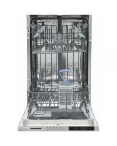 Masina de spalat vase Heinner HDW-FS4506DSA++, 10 seturi, 6 programe, Clasa A++, Control electronic, Display LED, 45 cm, Gri