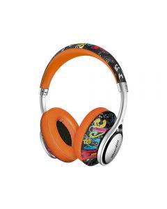 Casti Bluetooth Bluedio A2 (Air) Bluetooth 4.2, Wireless, Stereo, microfon incorporat, Portocaliu
