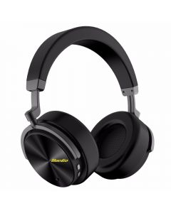 Casti Wireless Stereo Bluedio T5, Anularea zgomotelor, Tip C, Bluetooth, Microfon, Extra Bass, Negru