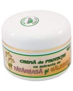 Crema de protectie cu extracte de tataneasa si galbenele, 50 grame