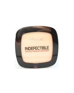 Fond de ten pudra L Oreal Indefectible Make-Up Powder - Warm Vanilla