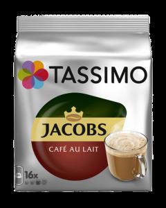 Tassimo Cafe au Lait, 16 capsule