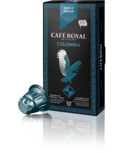 Capsule Cafe Royal Colombia, compatibil Nespresso, 10 capsule, 53 grame