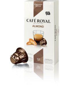 Capsule Café Royal Almond, compatibil Nespresso, 10 capsule, 53 grame