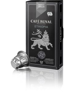 Capsule Cafe Royal Ethiopia, compatibil Nespresso, 10 capsule, 53 grame