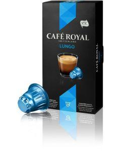 Capsule Cafe Royal Lungo, 10 capsule, compatibil Nespresso, 53 grame,