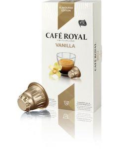 Capsule Cafe Royal Vanilla, compatibil Nespresso, 10 capsule, 53 grame