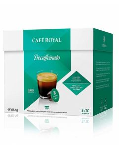 Capsule Cafe Royal Decaffeinato compatibile Dolce Gusto, 16 capsule