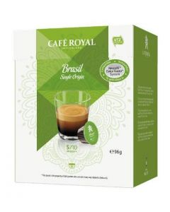 Capsule Cafe Royal  Brasil Single Origin compatibile Dolce Gusto, 16 capsule