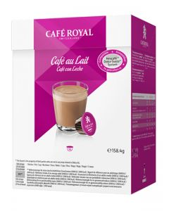 Capsule Cafe Royal Cafe au Lait compatibile Dolce Gusto, 16 capsule
