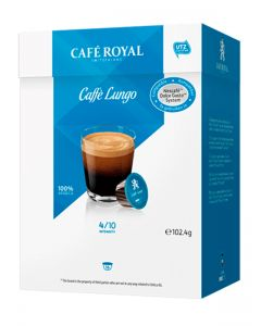 Capsule Cafe Royal Caffe Lungo compatibile Dolce Gusto, 16 capsule