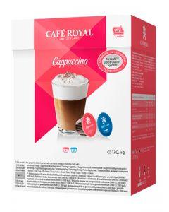 Capsule Cafe Royal Cappuccino compatibile Dolce Gusto, 16 capsule