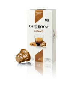 Capsule Cafe Royal Caramel, compatibil Nespresso, 10 capsule, 53 grame