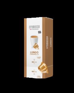 Capsule cafea Cremesso - Lungo Caramello 16 buc