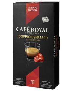 Capsule Cafe Royal Doppio Espresso, compatibil Nespresso, 10 capsule, 53 grame