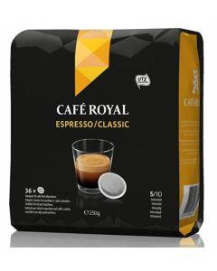 Paduri cafea Cafe Royal Espresso Classic, 36 paduri, 250g