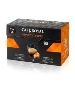 Capsule Cafe Royal Espresso Forte, 33 capsule,  compatibile Nespresso