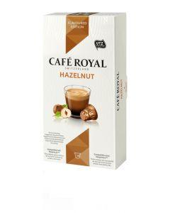 Capsule Cafe Royal Hazelnut, compatibil Nespresso, 10 capsule, 53 grame