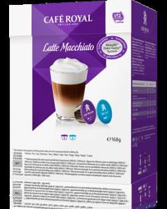 Capsule Cafe Royal Latte Macchiato compatibile Dolce Gusto, 16 capsule