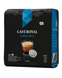 Paduri cafea Cafe Royal Lungo Mild, 36 paduri, 250g